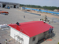 China light frame prefabricated steel structure residential building