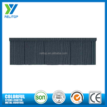 Wood style sand coated roofing building material/metal roof tile