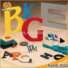 fashionable led illuminated acrylic letter,3d led channel letters,nice alphabet