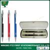 School Stationery Aluminum Pen And Pencil Set