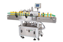Fully automatic packing material glue bottle labelling machine