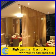 decorative chain link metal mesh for facades/Architectural curtains Wall