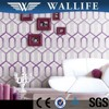 XD20404 waterproof interior decoration pvc wallpaper for living room wall