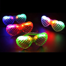 hot sell led shutter glasses for children various designs are available,heart shape led shurrter glasses SJ-LG27