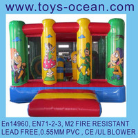 inflatable dwarf bouncer /small inflatable bouncer house /indoor inflatable bouncers for kids