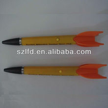 wholesale novelty plastic led projector pen light to write and promotion