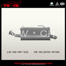 Strong material X-TRAIL SUV Rear exhaust muffler