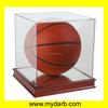 Clear Acrylic Box Acrylic Display Box with Wood Base,Acrylic Display case