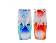 Acrylic Decorative Sand Hourglass Liquid Oil Timer