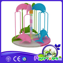 Newly design indoor playground castle Plastic tree castle Wooden Doll House