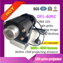 LED event projector gobo image rotating indoor use