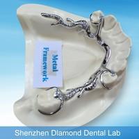New hot Dental Casting Metal partial framework denture making supplies 2015