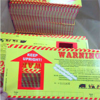 Logistics park specially shipping warning label,Custom die cut vinyl stickers,label sticker