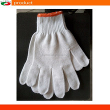 cotton knitted work gloves