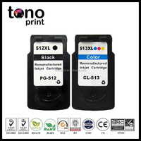 Inkjet Cartridge Compatible with Canon PG512 CL513 Ink Cartridge for Canon Pixma Ip2700 MP240