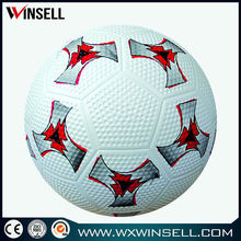 stocking a lot boys promotional rubber soccer ball /rubber footbal