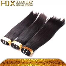 Top quality brazilian human hair weave,100 percent pure human hair,unprocessed virgin cheap straight brazilian hair weaving