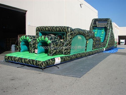Free shipping adult inflatable obstacle,giant inflatable obstacle course