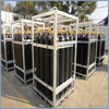 Gas Cylinder Bundled, Industry Gas Cylinder Rack , cylinder rack with mainfold