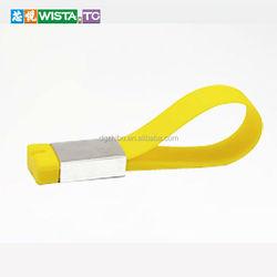 Real capacity plastic wristband transformers USB flash drive thumb pen drives