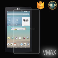 Vmax newest !Asahi 9H High clear LCD Premium tempered glass screen protector for LG E8 Tablet