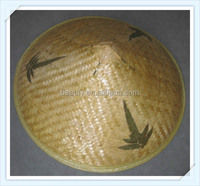 Chinese Traditional Bamboo Rain Hat