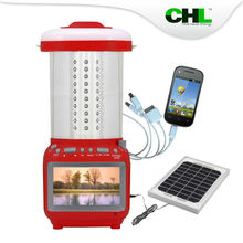 2015 Top sell CHL solar led lantern camping with tv
