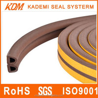 High quality Foam Rubber seal with adhesive tape