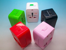 universal adapter usb multi travel adaptor CH-126-1 with CE ROHS 2014 Decent promotional gifts