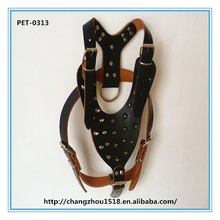Best Selling Pet Products Horse Harness Genuine Leather Dog Harness Trotting Harness