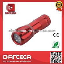 Top grade promotional 3 led metal led flashing light torch