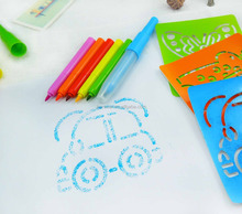 toy painting kids water color blow pen