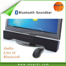 Megidi P5 Mini Soudbar Speaker Bluetooth Touch pannel for Laptop and Computer monitor