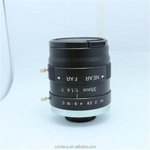 10.0 Megapixel C-Mount manual focus advanced industrial c mount cctv camera lens for industry use