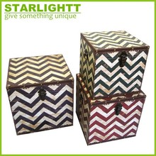 Innovative Style Decorative Rustic Storage Trunk
