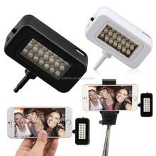 Mini Portable k 21 LED Camera Smart Flash Light For Cell Phone Tablet