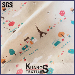polyester/spandex cotton fabric