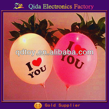hot sale China love wholesale led balloon