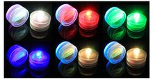 Waterproof LED Candle Wedding Decoration Submersible Floralyte LED Tea Lights Party Decoration LED Floral Light