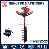 HY-GD52-23 portable digging machines earth digging machinery manual post hole auger