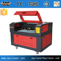 MC9060 Newly design cheap coconut shell laser cutting and engraving machine laser cutting glass engraving machine