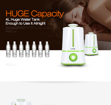 Big capacity summer hot sale working all night cool mist humidifier