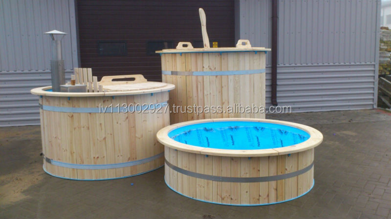Wooden Hot Tub Sauna Buy Hot Tub Round Hot Tub Wooden