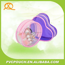 Hot sale in US china supplier pvc mini clear cosmetic pouch bag