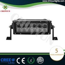 Hot selling osram driving lights dual row atv lights straight jeep light bar