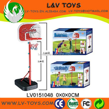 LV0151048 Children Basketball Game Toy Kids Water Filled Basketball Board Stand Set