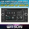 WITSON CAR DVD GPS FOR FORD FOCUS 2006-2011 CAR DVD GPS 1080P DSP CAPACTIVE SCREEN WiFi 3G FRONT DVR CAMERA