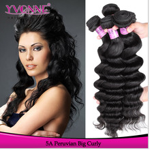 Yvonne raw unprocessed virgin peruvian curly hair