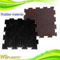 Alta calidad de poliuretano y caucho de perforación rotary estera de tabla