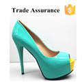 Plataforma del alto talón zapatos para mujeres